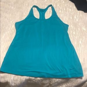 Teal Racerback Nike Dri Fit workout tank